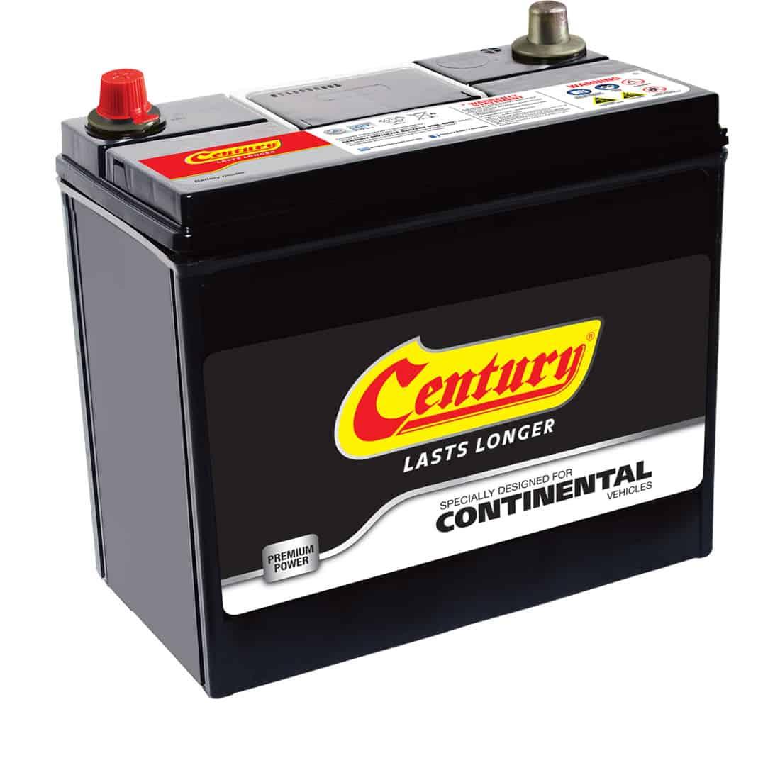 Century Continental battery