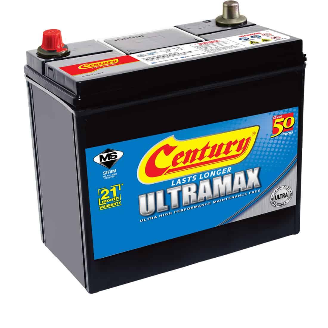 Century Ultramax Battery