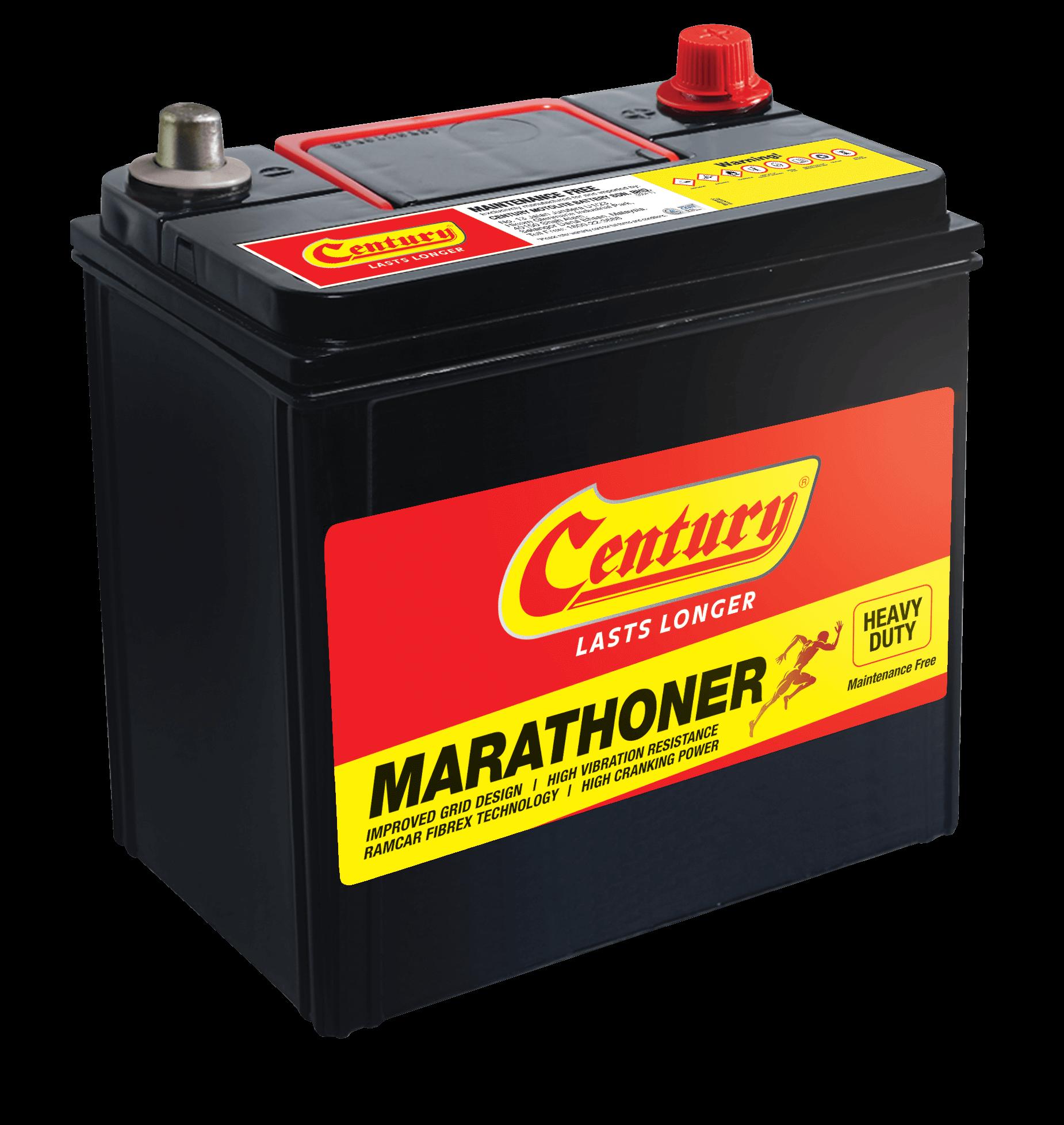 Century Marathoner Battery