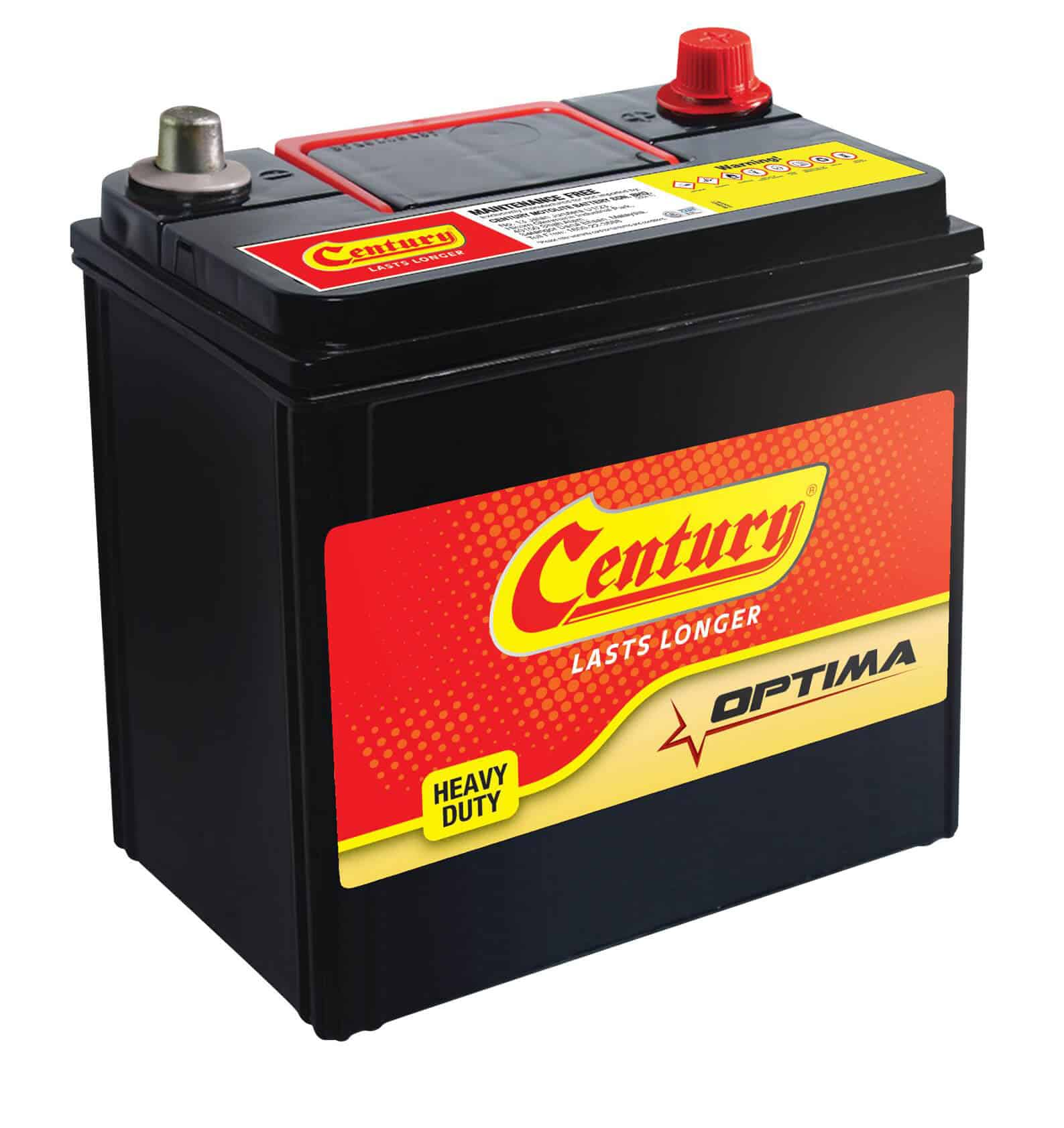 Century Continental battery