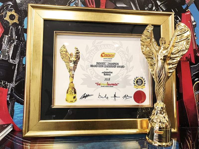 Brandlaureate award
