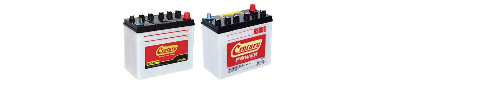 Batteries lineup Low Maintenance