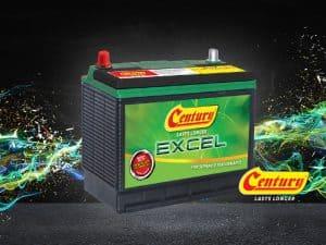 Century Excel Tahan Lebih Lama: Bateri Kereta Terbaik | Century Battery