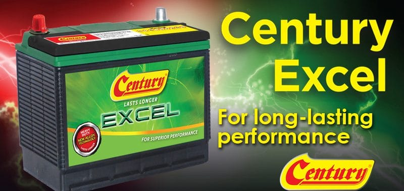 Century Excel for long-lasting car battery!| Century Battery
