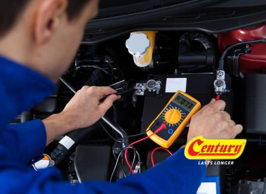 Ways to measure your Century car battery condition