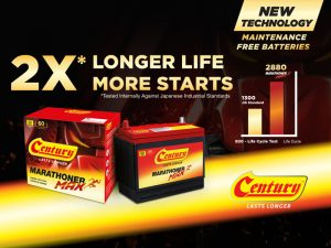 All New Century Marathoner Max Offers 2x Longer Battery Life!| Century Battery