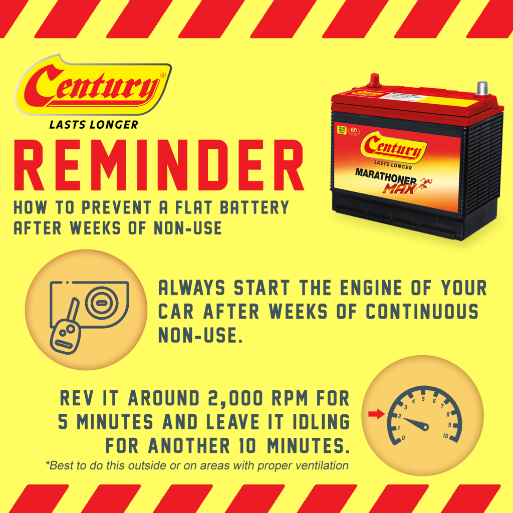Car Battery Saving and Installation Tips During the MCO Period | Century Battery
