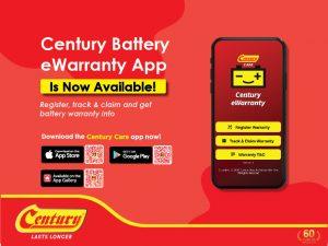 Century care ewarranty app