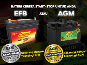 EFB VS AGM: Bateri Kereta Yang Mana Sesuai Untuk Anda?   Century Battery
